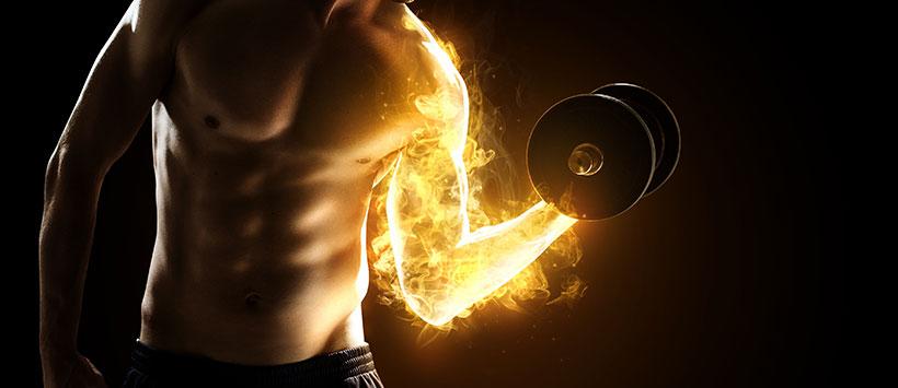 Kosttillskott för muskelbyggaren